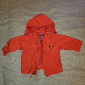 Red Ralph Lauren jacket